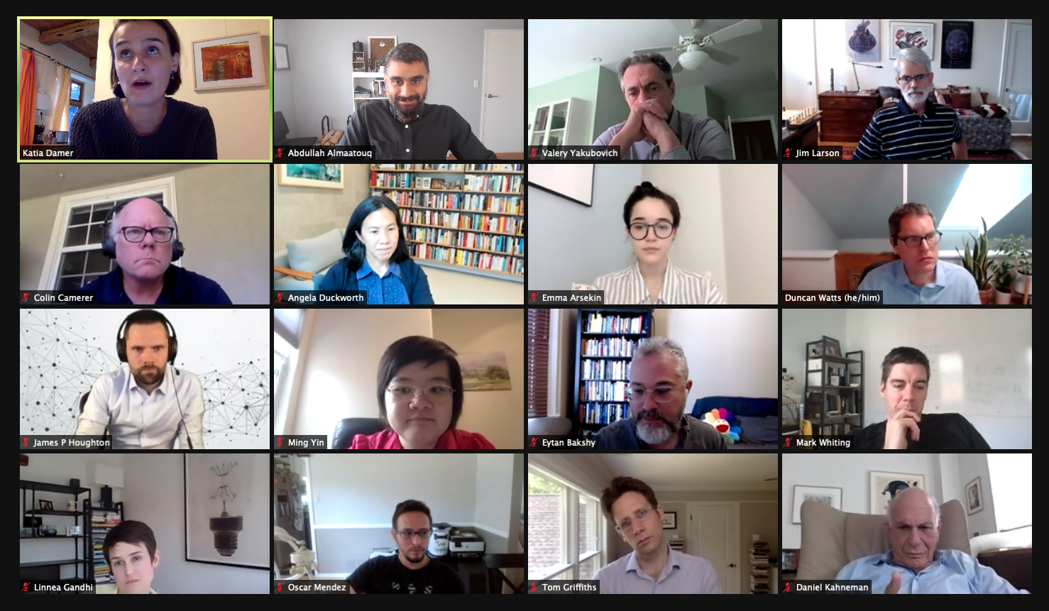 Expert Advisory Committee on Scaling Up Experimental, Social, and Behavioral Science